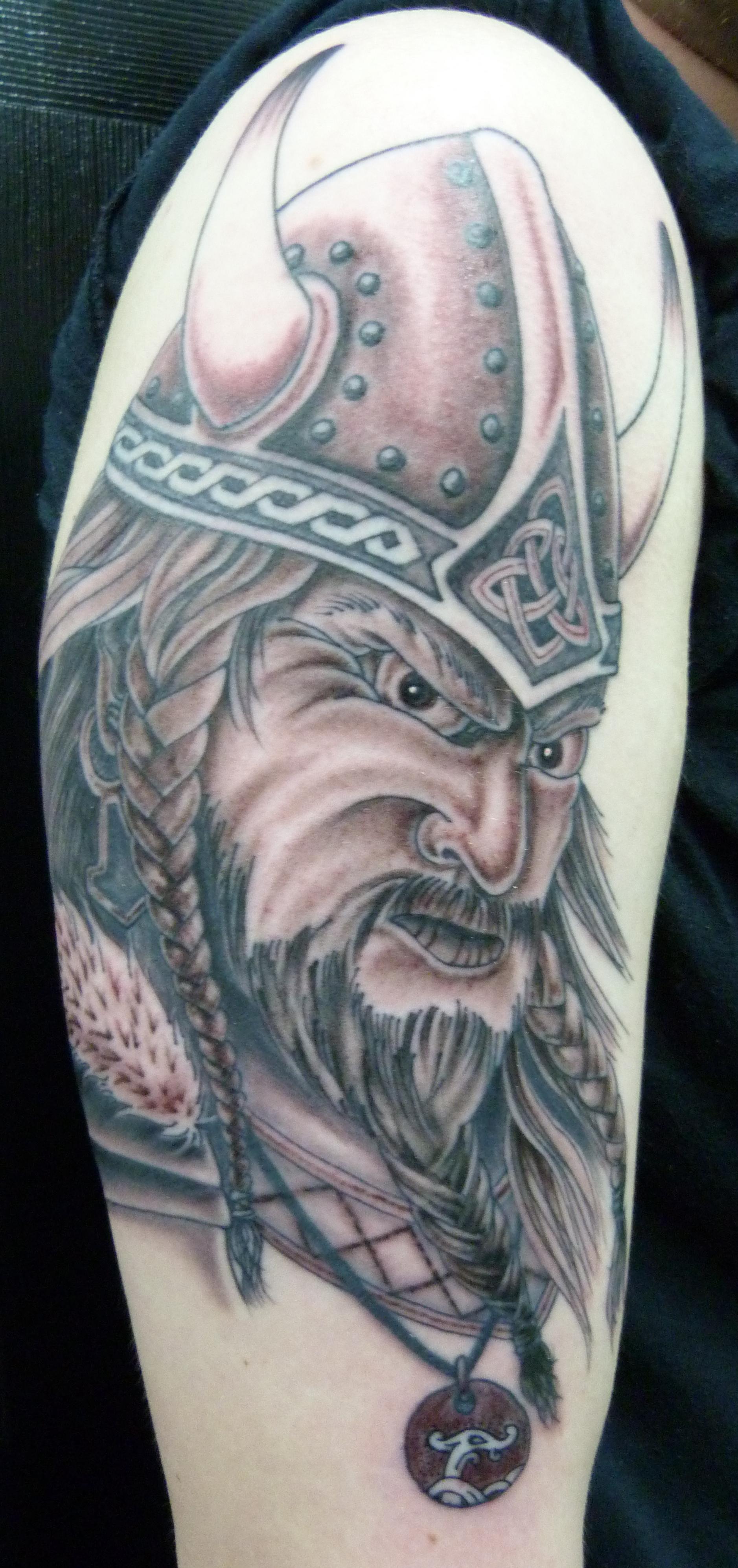 Roman Legion Tattoo SPQR